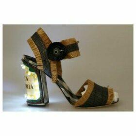 D G  LED Lights Antica Trattoria Sandals  women's Sandals in multicolour