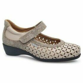 Calzamedi  LETINAS  SQUARE  women's Shoes (Pumps / Ballerinas) in Beige