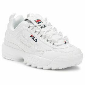 Fila  Disruptor II Premium White Trainer  women's Trainers in White