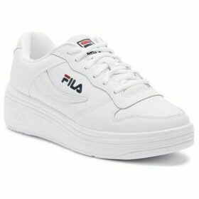 Fila  WX-100 Womens White / Navy / Red Trainers  women's Trainers in White