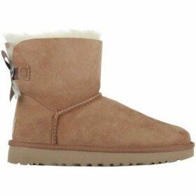 UGG  Mini Bailey Bow II  women's Snow boots in Beige