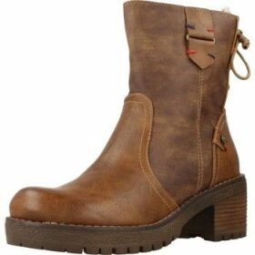Xti  33972X  women's Low Ankle Boots in Brown