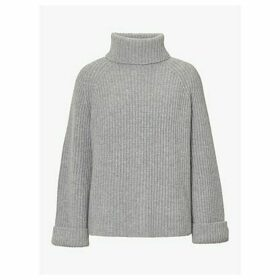 Winser London Lauren Ribbed Roll Neck Jumper