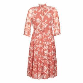 Vero Moda  VMDINO  women's Long Dress in Orange