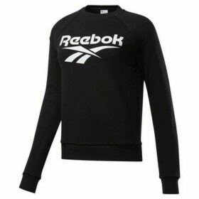 Reebok Sport  Classics Vector Crew  women's Sweatshirt in Black
