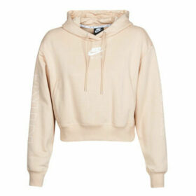 Nike  W NSW AIR HOODIE FLC BB  women's Sweatshirt in Beige