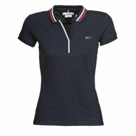 Tommy Hilfiger  AILA SLIM POLO  women's Polo shirt in Blue
