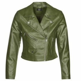 Only  ONLENYA  women's Leather jacket in Green