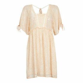 Molly Bracken  DALINA  women's Dress in Beige