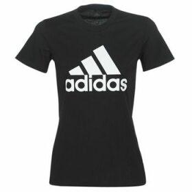 adidas  BOS CO TEE  women's T shirt in Black