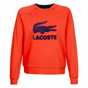 Lacoste  ANASTASIE  women's Sweatshirt in Red