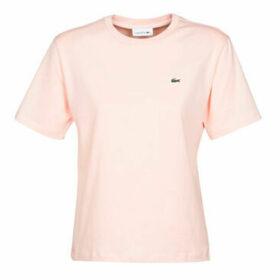 Lacoste  EMMA  women's T shirt in Pink