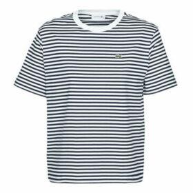 Lacoste  CLOTILDE  women's T shirt in Blue