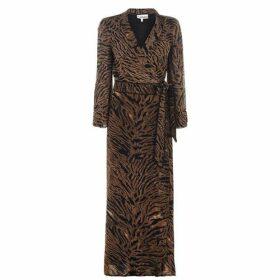 Ganni Maxi Wrap Dress
