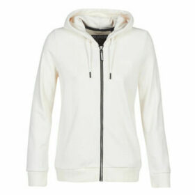 Superdry  OL ELITE ZIPHOOD  women's Sweatshirt in White
