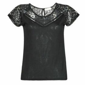 Deeluxe  CLEA  women's T shirt in Black