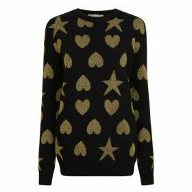 Gucci Heart And Stars Knit Jumper