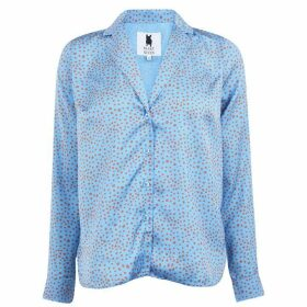 Blake Seven Milly Dot Blouse - Blue