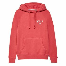 Jack Wills Redhill Pop Over Hoodie - Red