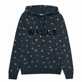 Jack Wills Redhill Pop Over Hoodie - Navy
