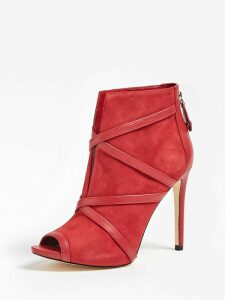 Guess Adalind Real Leather Ankle Boot