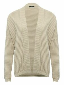 Women's Ladies ribbed crop cardigan