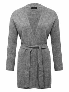 Women's Ladies longline belted cardigan