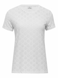 Women's JDY ladies broderie anglaise t-shirt