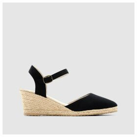 Espadrille Wedges with Rope Sole