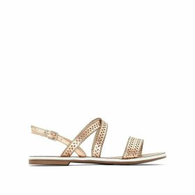 Lilo Flat Leather Sandals