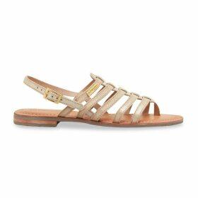 Hariette Toe Post Leather Sandals