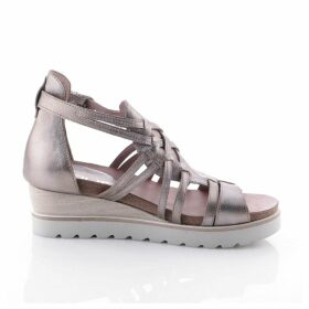 Tapas Leather Wedge Sandals