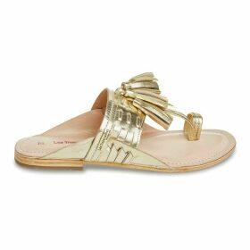 Opium Leather Toe Post Sandals
