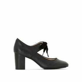 Margot Langdon Leather High Heels