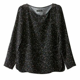 Constellation Print Blouse
