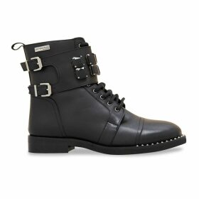 Zanzi Leather Ankle Boots