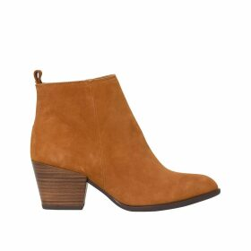 Torly Leather Ankle Boots