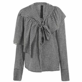 Petar Petrov Checked Blouse