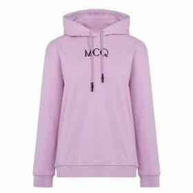 McQ Alexander McQueen MCQ Logo Bf Hoodie Ld02