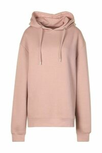 Womens Extreme Oversized Hoodie - Pink - 6, Pink