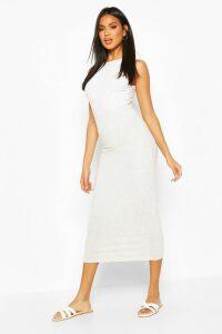 Womens Core Basic Jersey Midaxi Skirt - Grey - 16, Grey