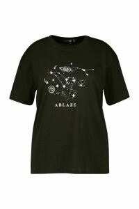 Plus Galaxy T-Shirt - Black - 20, Black