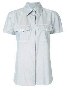 Chanel Pre-Owned short sleeve shirt - Blue