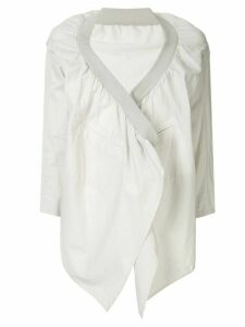 Yohji Yamamoto Pre-Owned open front jacket - Grey