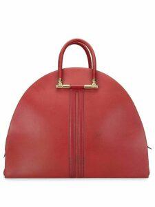Hermès 1994 pre-owned half-moon travel bag - Red