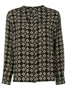 Chanel Pre-Owned CC clover long sleeve tops shirt - Brown