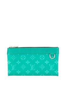 Louis Vuitton 2013s pochette Discovery PM pouch - Blue