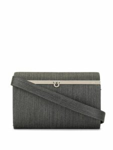 Salvatore Ferragamo Pre-Owned Gancini shoulder bag - Grey