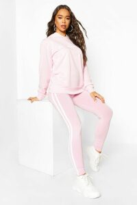 Womens Woman Hoodie And Legging Tracksuit - Pink - 16, Pink