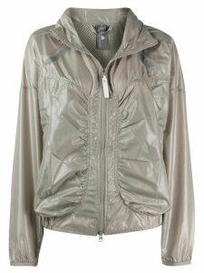 adidas by Stella McCartney shiny track jacket - NEUTRALS